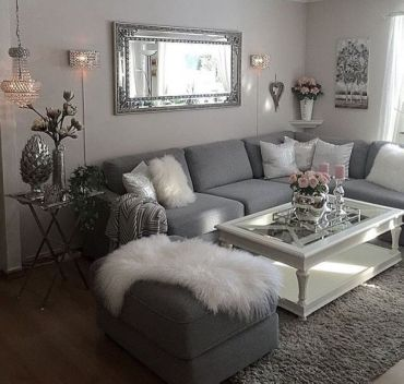 Adorable apartment living room decorating ideas 22