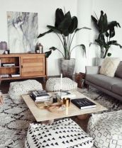 Adorable apartment living room decorating ideas 31