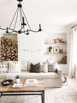 Adorable apartment living room decorating ideas 34