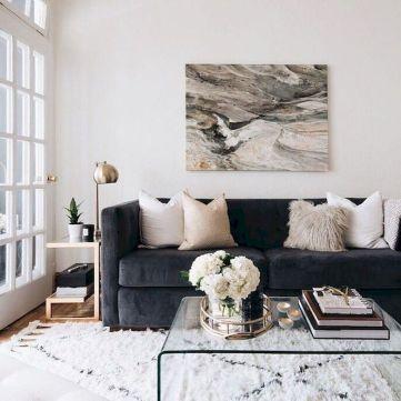 Adorable apartment living room decorating ideas 35