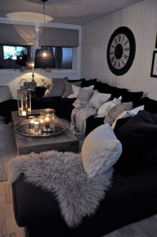 Adorable apartment living room decorating ideas 40