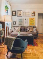 Adorable apartment living room decorating ideas 46