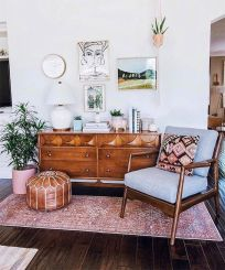 Adorable apartment living room decorating ideas 48