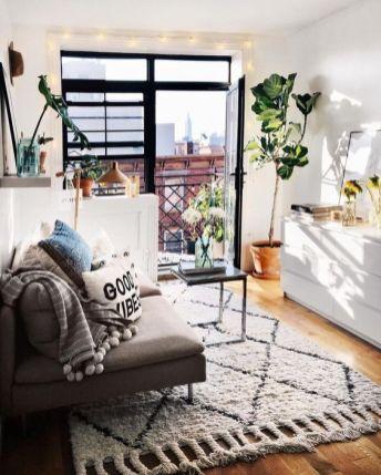 Adorable apartment living room decorating ideas 51