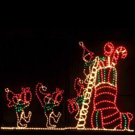 Awesome winter yard decoration ideas 06