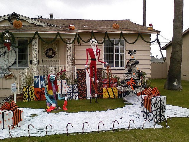 Awesome winter yard decoration ideas 09