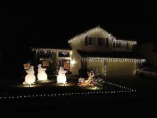 Awesome winter yard decoration ideas 43