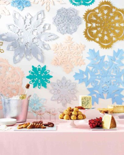 Charming winter wonderland party decoration kids ideas 02