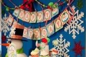 Charming winter wonderland party decoration kids ideas 15