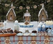 Charming winter wonderland party decoration kids ideas 16