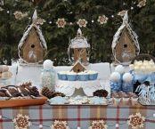 Charming winter wonderland party decoration kids ideas 16