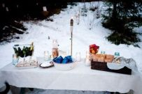 Charming winter wonderland party decoration kids ideas 23