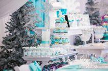 Charming winter wonderland party decoration kids ideas 26