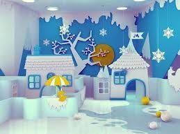 Charming winter wonderland party decoration kids ideas 31