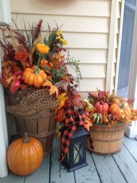 Cheap and easy fall decorating ideas 26