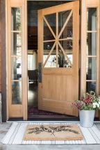 Fancy farmhouse fall porch decor and design ideas 17