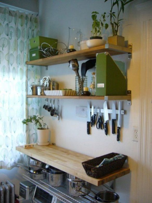 Fantastic kitchen organization ideas for small apartment 06