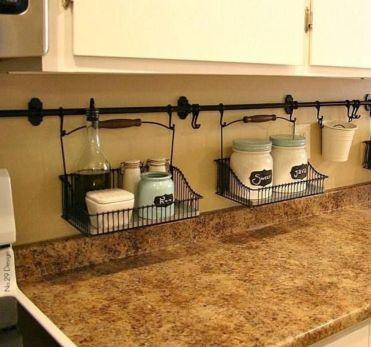Fantastic kitchen organization ideas for small apartment 40