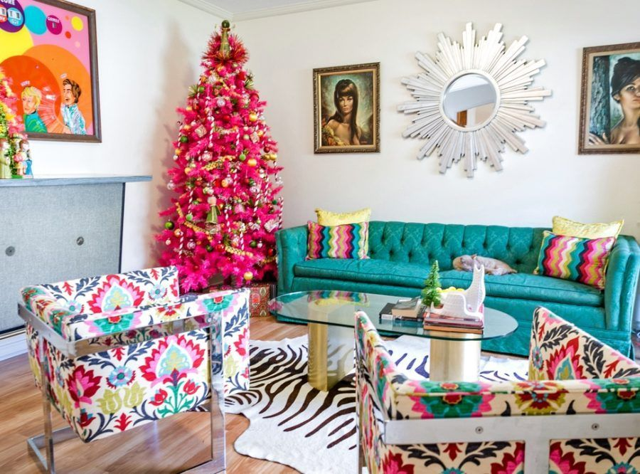 Fascinating christmas tree ideas for living room 02