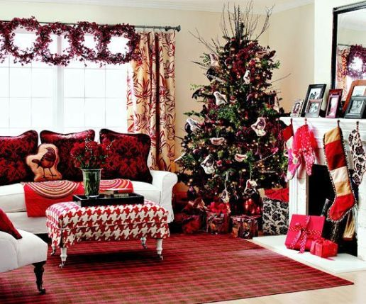 Fascinating christmas tree ideas for living room 06