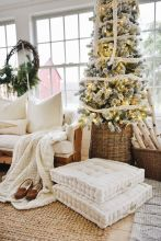 Fascinating christmas tree ideas for living room 20