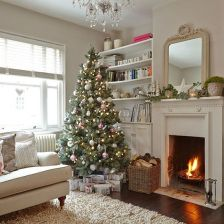 Fascinating christmas tree ideas for living room 26