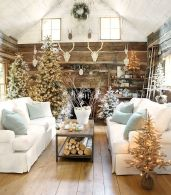 Fascinating christmas tree ideas for living room 29