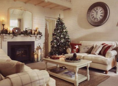 Fascinating christmas tree ideas for living room 42