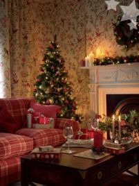 Fascinating christmas tree ideas for living room 46