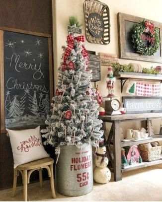 Fascinating christmas tree ideas for living room 47