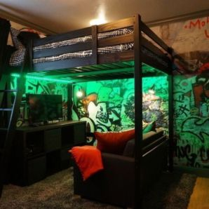 Latest diy organization ideas for bedroom teenage boys 04
