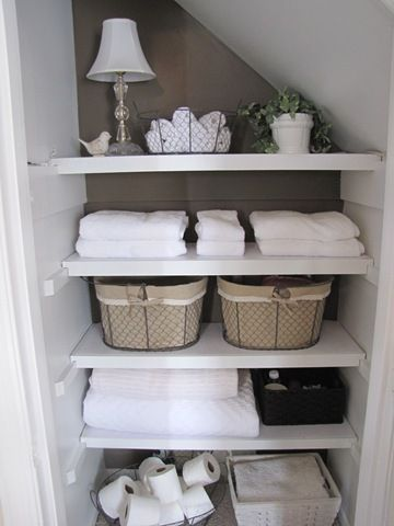 Lovely diy bathroom organisation shelves ideas 09