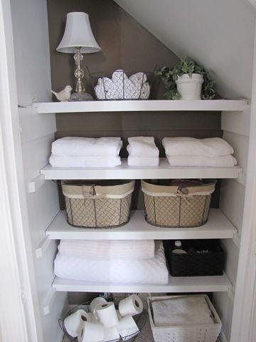 Lovely diy bathroom organisation shelves ideas 09
