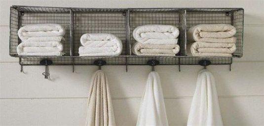 Lovely diy bathroom organisation shelves ideas 12