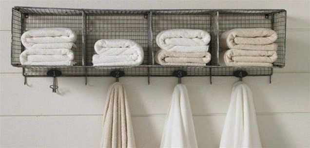Lovely diy bathroom organisation shelves ideas 12