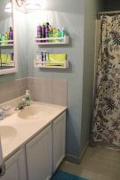 Lovely diy bathroom organisation shelves ideas 14