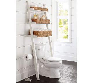 Lovely diy bathroom organisation shelves ideas 19