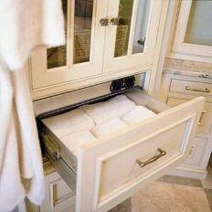 Lovely diy bathroom organisation shelves ideas 37