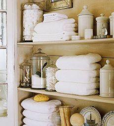 Lovely diy bathroom organisation shelves ideas 45