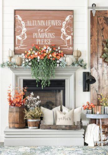 Luxurious crafty diy farmhouse fall decor ideas 22