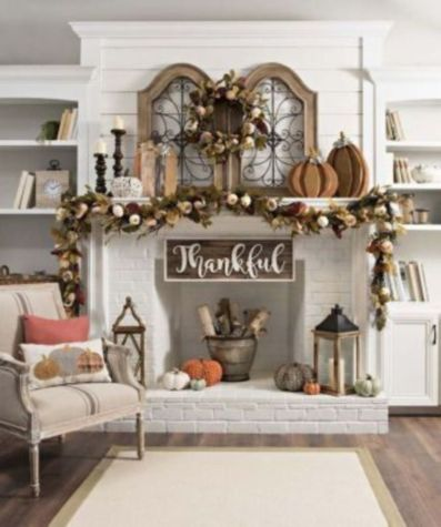 Magnificient farmhouse fall decor ideas on a budget 22