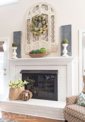 Magnificient farmhouse fall decor ideas on a budget 54
