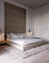 Minimalist master bedrooms decor ideas 19