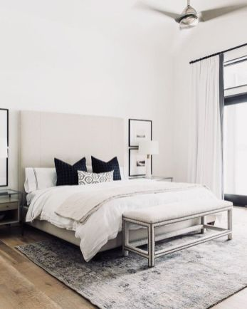 Minimalist master bedrooms decor ideas 25