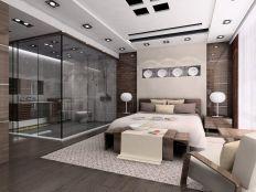 Minimalist master bedrooms decor ideas 34