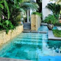 53 Minimalist Small Pool Design With Beautiful Garden Inside