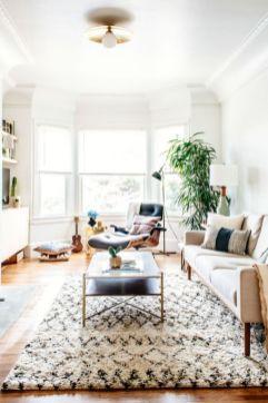Modern white living room design ideas 06