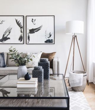 Modern white living room design ideas 18