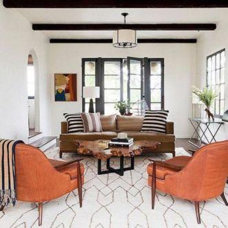 Modern white living room design ideas 27