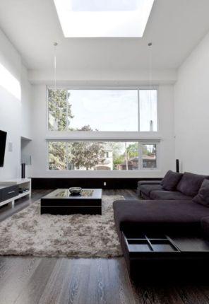 Modern white living room design ideas 45